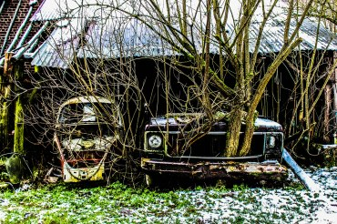 urbex-Old cars